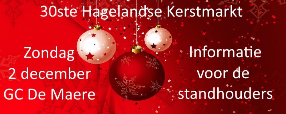Informatie 30ste Hagelandse Kerstmarkt