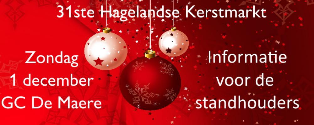 Informatie 31ste Hagelandse Kerstmarkt